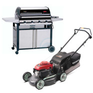 How should I prepare the BBQ & Lawn Mower for moving ?