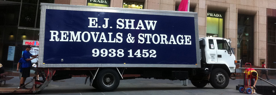 EJ Shaw Removals & Storage 9938 1452
